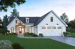 Modern-Farmhouse Style Floor Plans Plan: 91-165