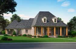 Southern Style House Plans Plan: 91-169