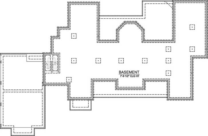 Lower Floor Plan: 91-171