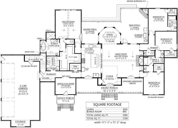 Main Floor Plan: 91-171