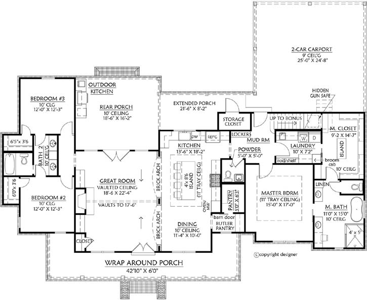 Main Floor Plan: 91-174