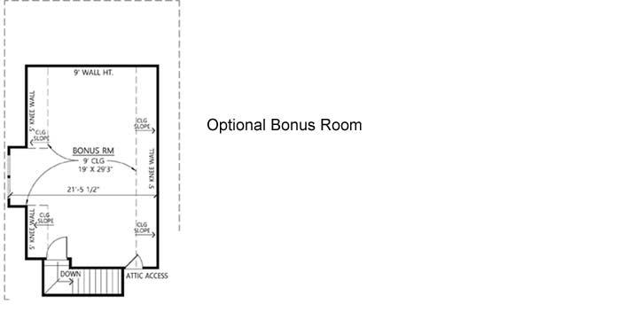 Bonus Floor Plan: 91-178
