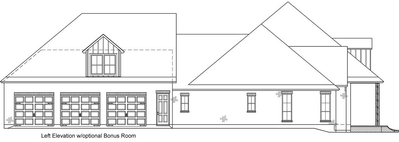 French-country Style House Plans
