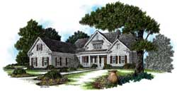 Country Style Floor Plans Plan: 94-120