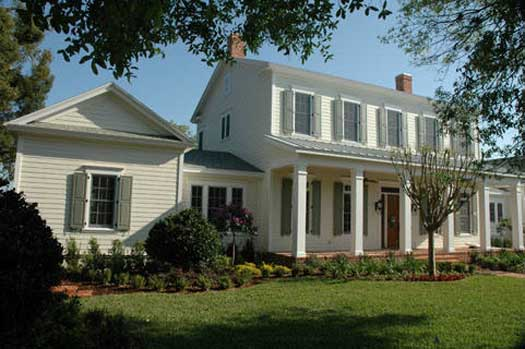 Early-American Style House Plans Plan: 95-102