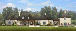Southern Style Home Design Plan: 95-104