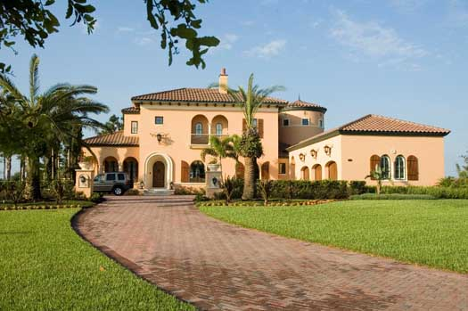 Mediterranean Style Floor Plans Plan: 95-105