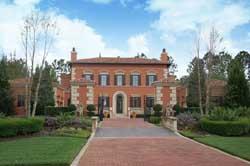Georgian Style Home Design Plan: 95-107
