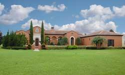 Mediterranean Style Home Design Plan: 95-108