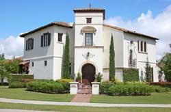 Italian Style House Plans Plan: 95-109