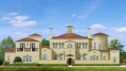 Spanish Style House Plans Plan: 95-112