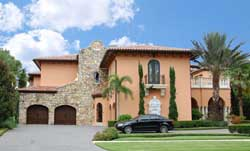 Spanish Style Home Design Plan: 95-114