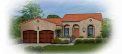 Sunbelt Style House Plans Plan: 95-118