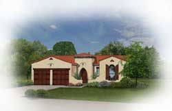 Spanish Style House Plans Plan: 95-122