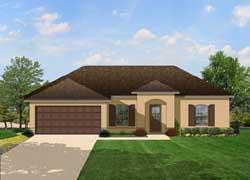 European Style House Plans Plan: 95-125