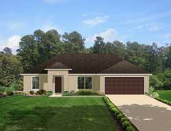 Sunbelt Style Floor Plans Plan: 95-126