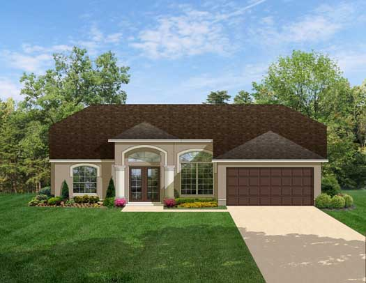 Traditional Style Floor Plans Plan: 95-127