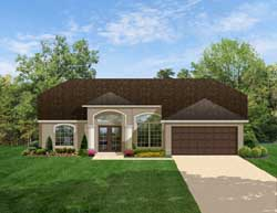Traditional Style House Plans Plan: 95-127