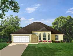Traditional Style Floor Plans Plan: 95-133