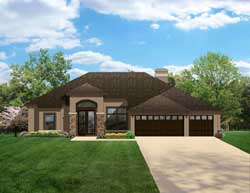 Traditional Style Floor Plans Plan: 95-140