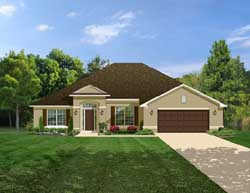 Traditional Style Home Design Plan: 95-142