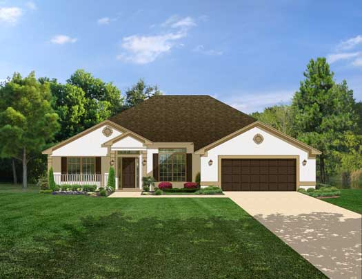 Traditional Style House Plans Plan: 95-143