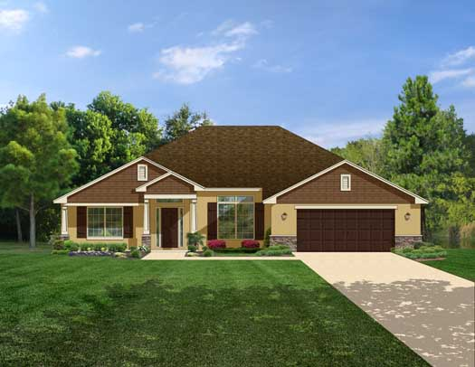 Traditional Style House Plans Plan: 95-144