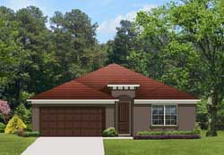 Traditional Style Home Design Plan: 95-153