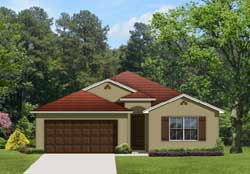 Traditional Style Home Design Plan: 95-154