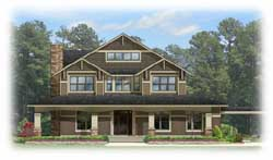 Craftsman Style House Plans Plan: 95-171