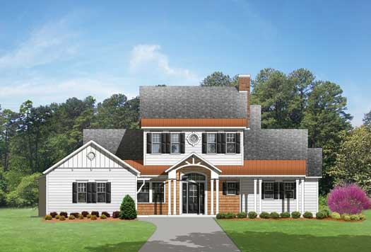 Country Style House Plans Plan: 95-172