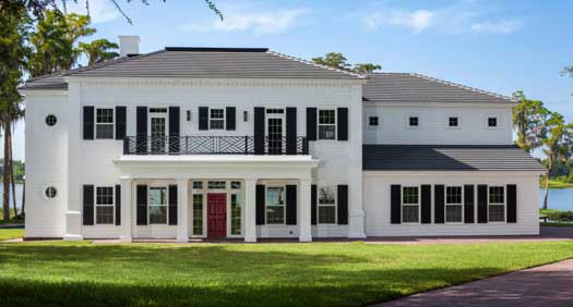Southern-colonial Style Home Design Plan: 95-175
