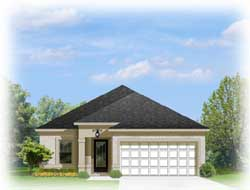 Traditional Style Home Design Plan: 95-182