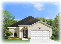 Traditional Style Home Design Plan: 95-186