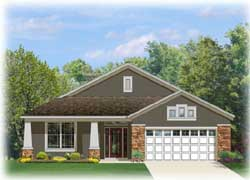 Craftsman Style House Plans Plan: 95-189