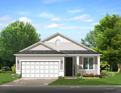 Traditional Style Home Design Plan: 95-199
