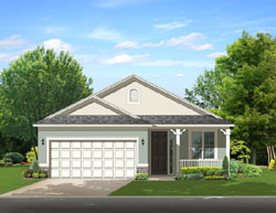 Traditional Style Home Design Plan: 95-201