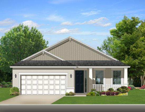 Ranch Style Floor Plans Plan: 95-203