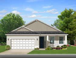 Ranch Style Home Design Plan: 95-203