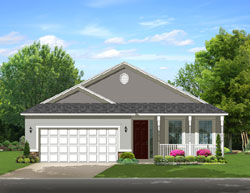Country Style House Plans Plan: 95-204