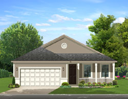 Traditional Style Floor Plans Plan: 95-205