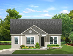 Traditional Style House Plans Plan: 95-214