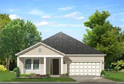 Florida Style House Plans Plan: 95-217
