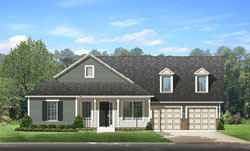 Country Style Floor Plans Plan: 95-220