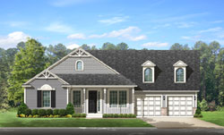 Country Style Floor Plans Plan: 95-222