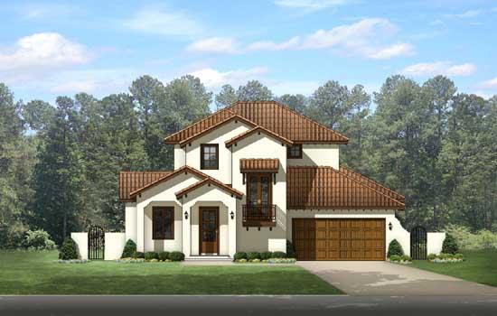 Spanish Style House Plans Plan: 95-224