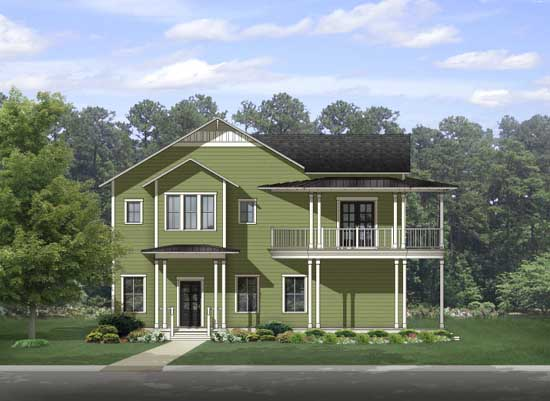 Country Style Floor Plans Plan: 95-225