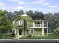 Country Style House Plans Plan: 95-225