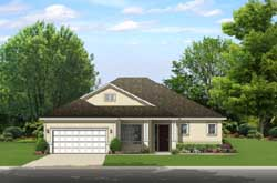 Traditional Style Home Design Plan: 95-232
