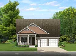 Traditional Style Floor Plans Plan: 95-235